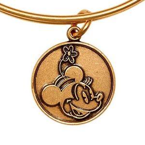 Minnie Mouse Alex & Ani bracelet