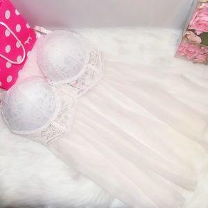 Victoria's Secret Push-Up BabyDoll 38D