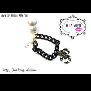 Handmade Om bracelet