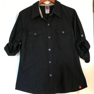 Northface button down shirt