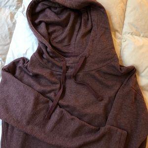 Maroon Hooded Tunic