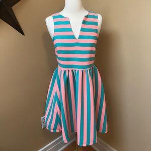 Flirty Striped Dress