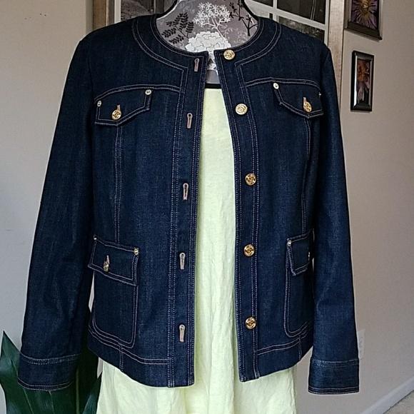 1a3dc4e1d6 JOHN denim jacket sz. 10. M 59ed07c936d594da2d09c6f1