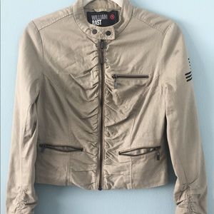 Bommer style Ruched army jacket