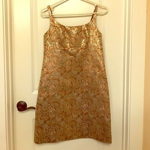 J crew brocade dress