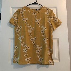 Fall flower blouse!