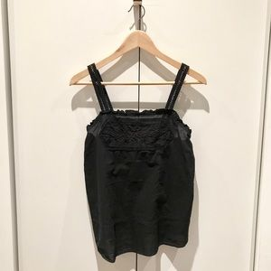 Mossimo Black Tank Top Blouse, Size Large