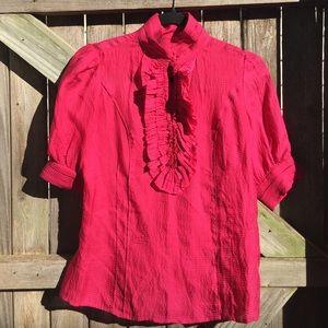 Etcetera | 100% silk designer blouse