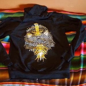 Wolf and Dagger Tattoo Shop Hoodie