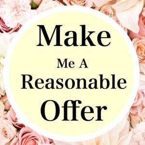 make me an offer :-)