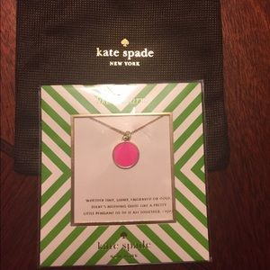 Hot To Trot Pendent necklace by Kate Spade!