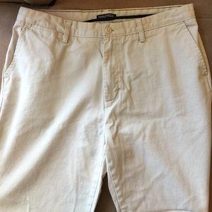 Nautica Stone Khaki Pants 36x30