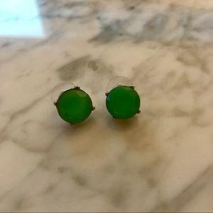 J.Crew teal stud earrings