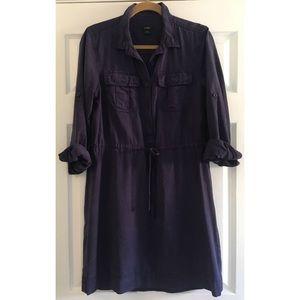 J.Crew Garment Dyed Shirt Dress