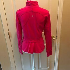 NWOT Lululemon Pink Jacket