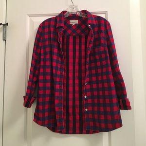 JCrew flannel boy shirt
