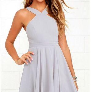 Gray lulus dress