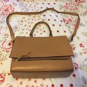 Asos Leather Too handle satchel