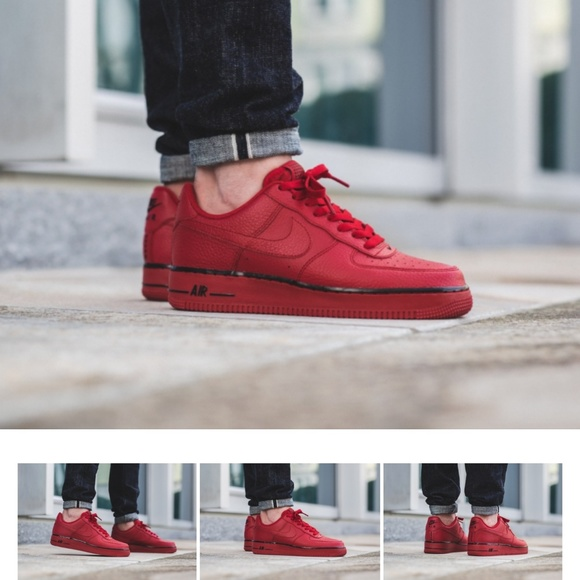 wide varieties great fit well known Mens Nike Air Force 1 Low * Gym Red