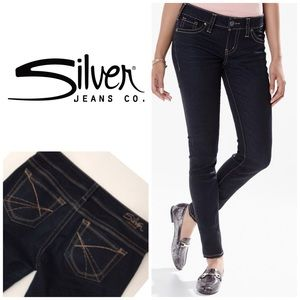 Silver Aiko Skinny Jeans 👖