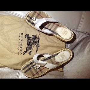 Burberry Espadrilles size 7 or 7.5