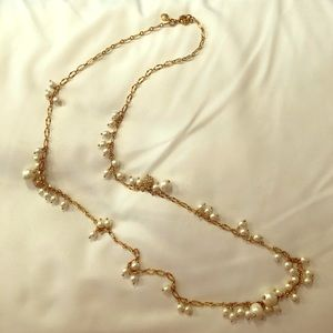 Pearl accent Statement Necklace