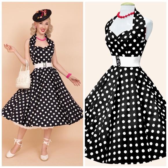 3e78919c Vivien of Holloway Dresses | 1950s Halterneck Dress | Poshmark