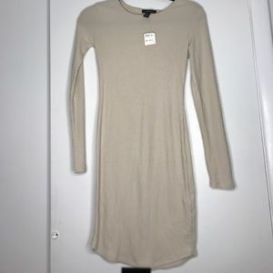 NWT forever 21 tan dress