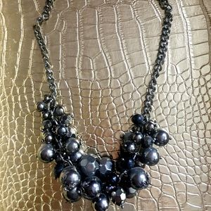 Guess? Holiday bauble statement necklace