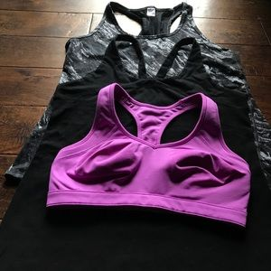 Gap fit exercise top bundle