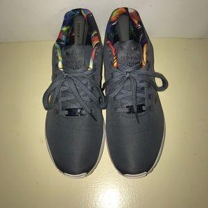 le adidas zx flusso di luce poshmark onix