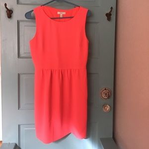 Hot pink J.Crew dress