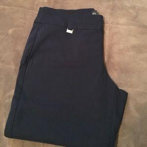 Navy Capri Pants