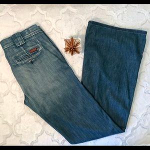 7 For All Mankind denim trouser pant