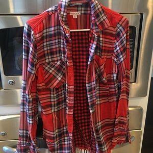 Merona Flannel - Size Small
