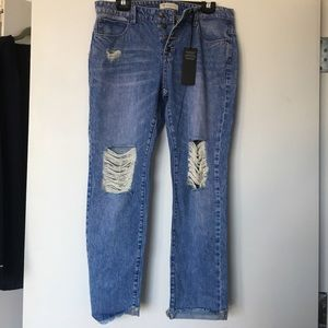 GUESS distressed jeans size 28