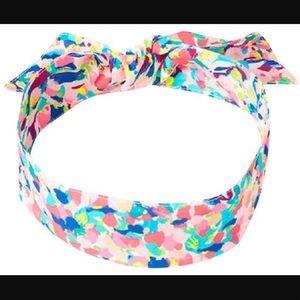 Lilly Pulitzer Headband / Pina Colada Club / NWT