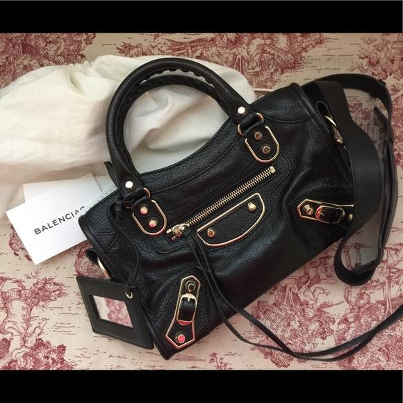 5f03192a80ba Balenciaga Handbags - Used Authentic Balenciaga Metallic Edge City Mini
