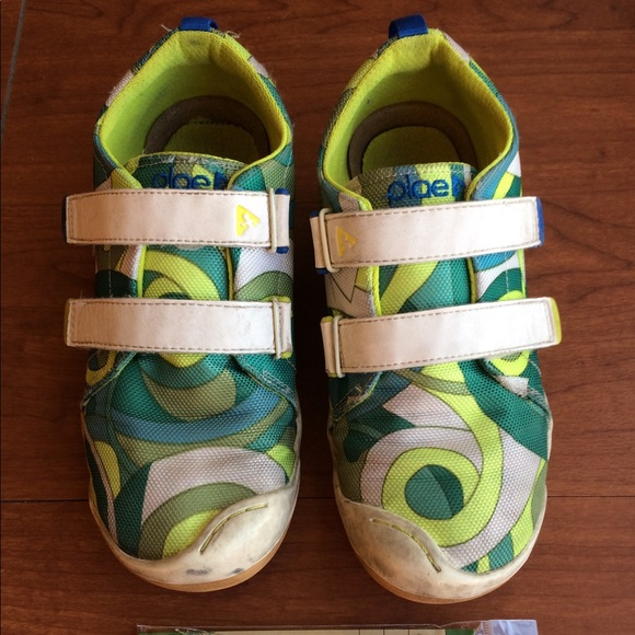 PLAE Shoes | Ronan Retro Print With