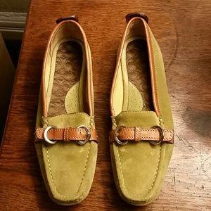 Coach Jillian (A2322)Size 7 Driving Loafers EUC