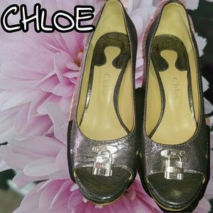 CHLOE Paddington Pumps/Sandals EU Sz 40