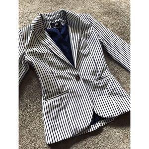 H&M Striped Blazer