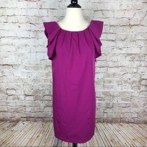 Diane von Furstenberg Purple Stretch Dress Sz 6