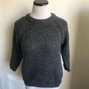 Zara Gray Knit Sweater
