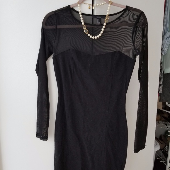 Forever 21 Dresses & Skirts - Forever 21 LBD with Sheer Top, Size Small