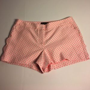 J. Crew polka dot shorts