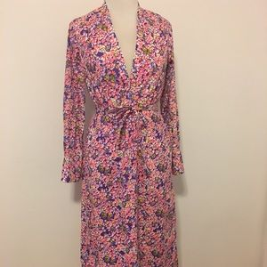 Vintage Lilly Pulitzer Caftan Maxi Dress