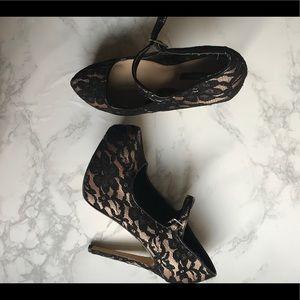 Forever 21 Lace Stilettos