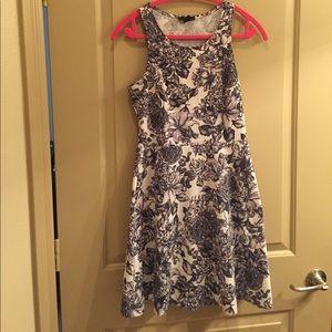 Fit & flair floral dress