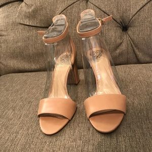 New! Never worn Nude sandals
